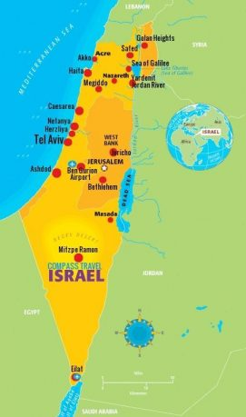 Best Of Israel In Spanish Nights Days Compass Travel Israel - Us map and compass